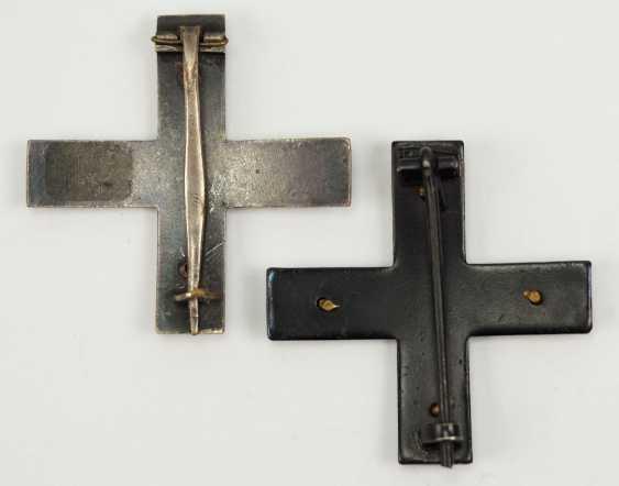 Free corps: Lot of 2 Baltic cross, 1. Class. - photo 2