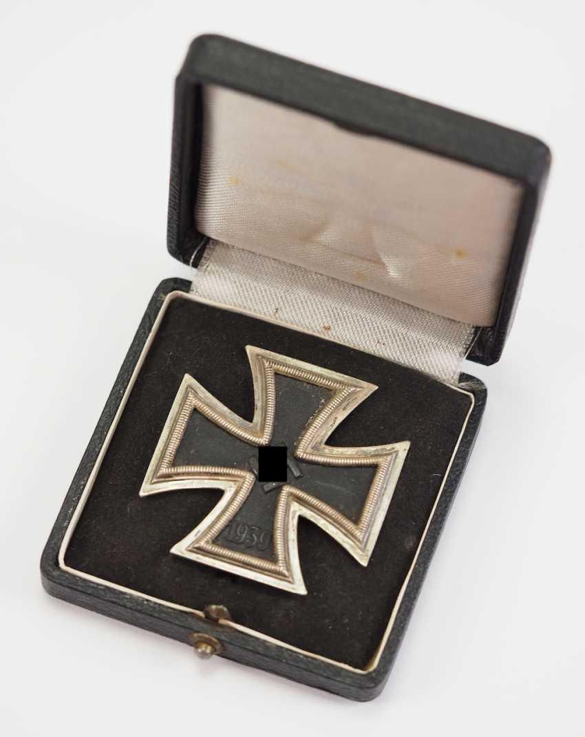Iron Cross, 1939, 1. Class, in a case - 1. - photo 1