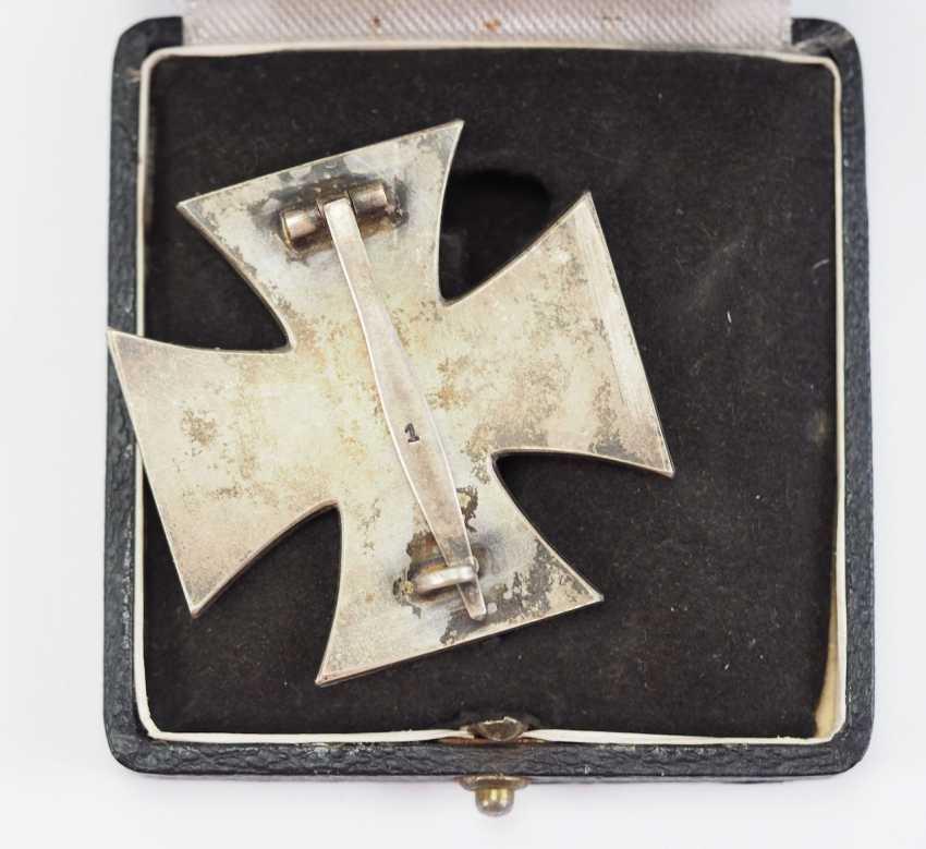 Iron Cross, 1939, 1. Class, in a case - 1. - photo 4