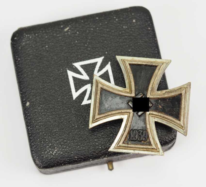 Iron Cross, 1939, 1. Class, in a case - 26. - photo 1