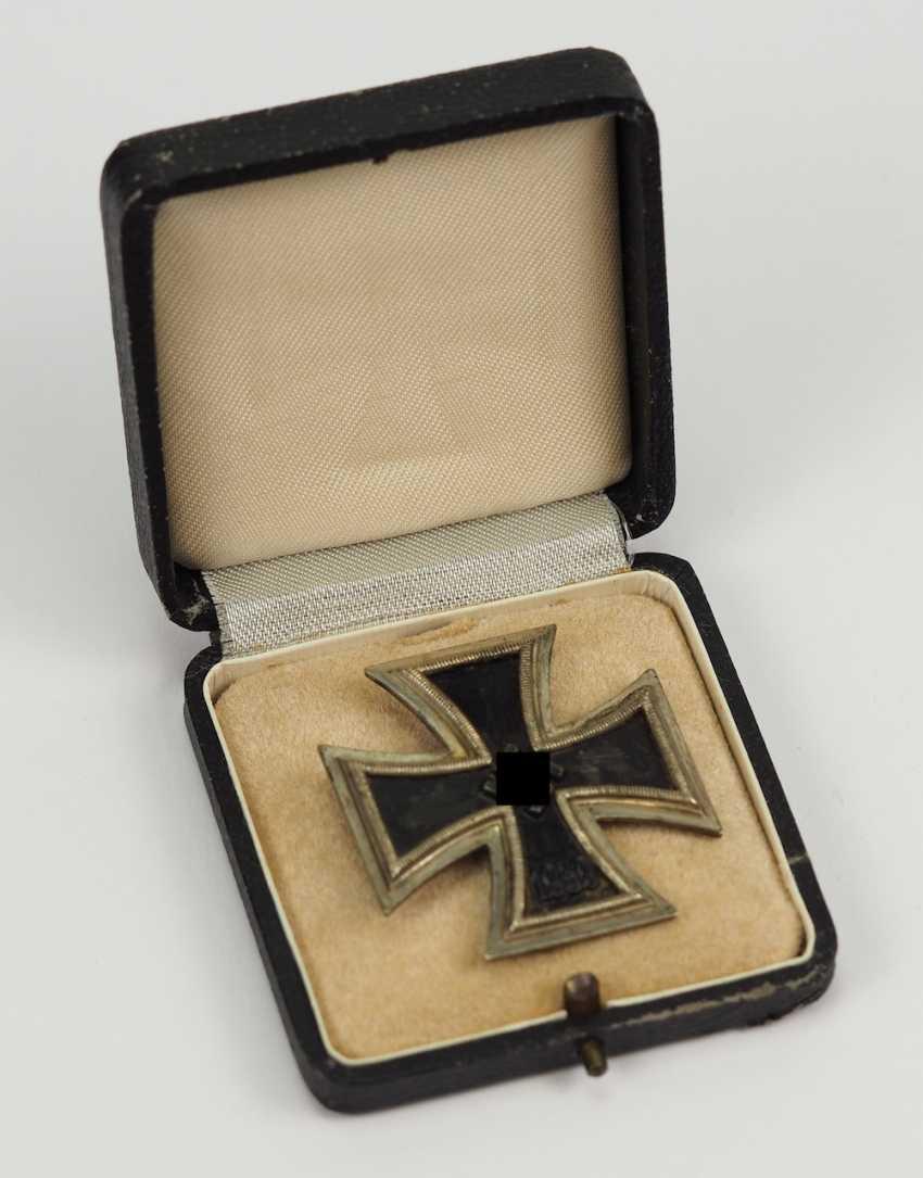 Iron Cross, 1939, 1. Class, in a case - 26. - photo 3