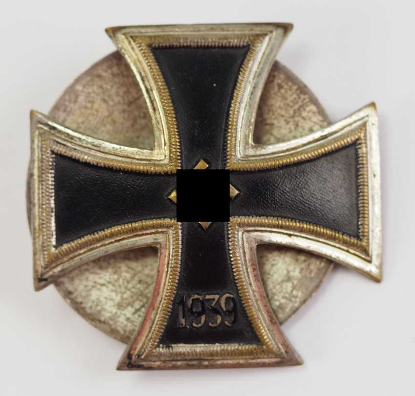 Iron Cross, 1939, 1. Class, in a case - Schickle. - photo 3