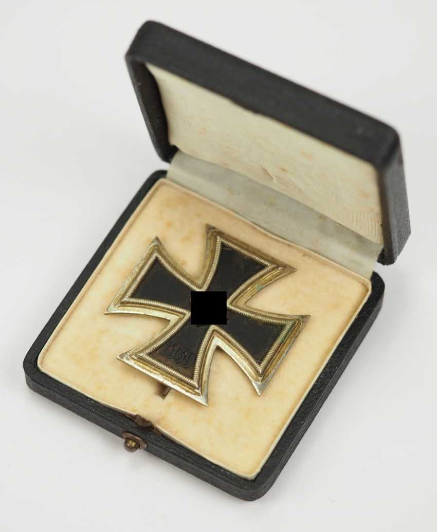 Iron Cross, 1939, 1. Class, in a case L/44. - photo 1
