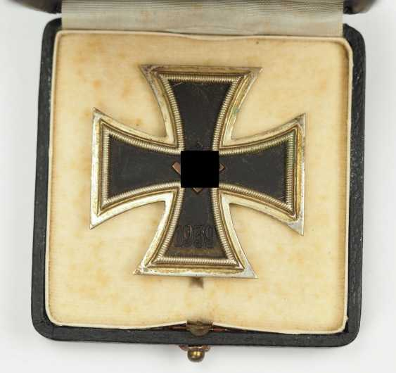 Iron Cross, 1939, 1. Class, in a case L/44. - photo 2