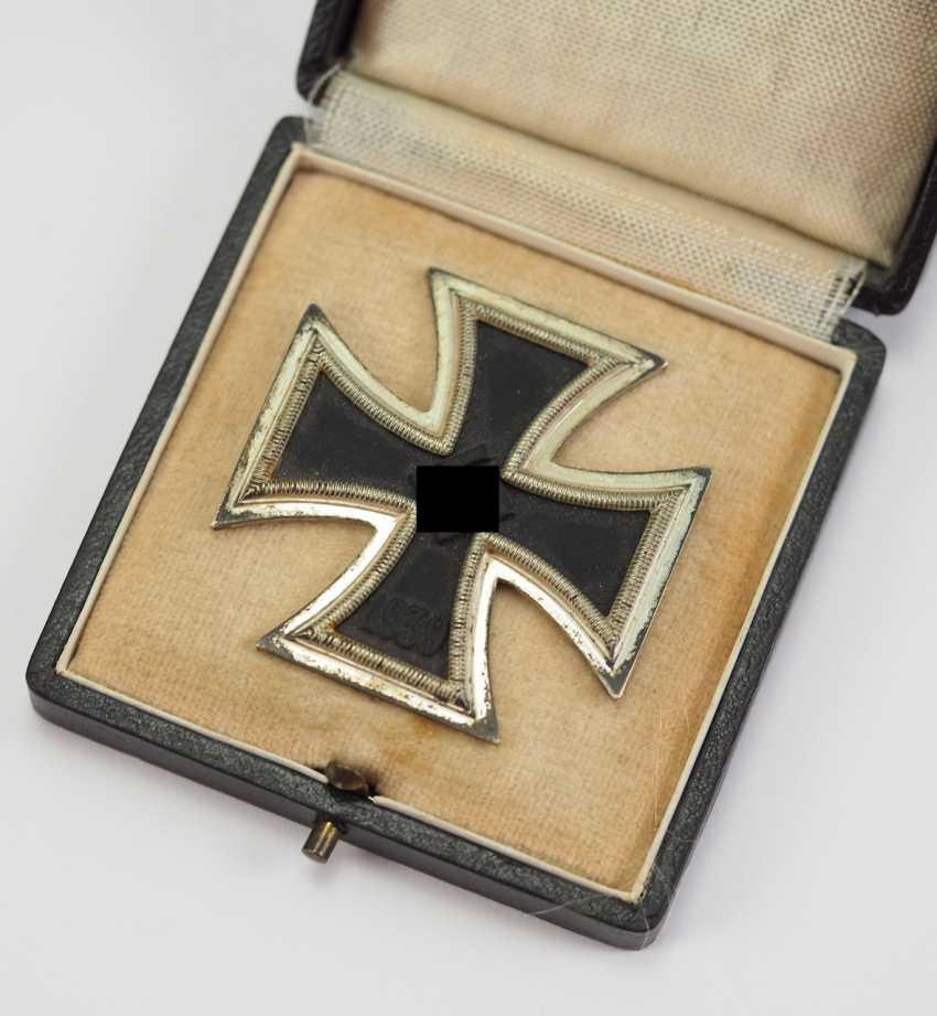 Iron Cross, 1939, 1. Class, in a case - L/57. - photo 1