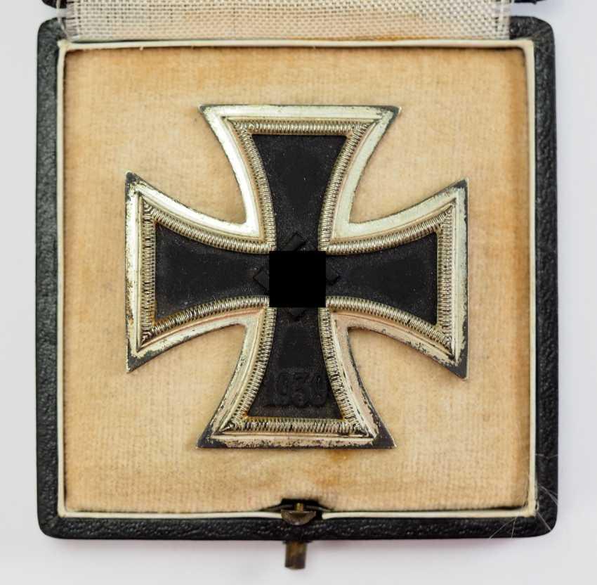 Iron Cross, 1939, 1. Class, in a case - L/57. - photo 2