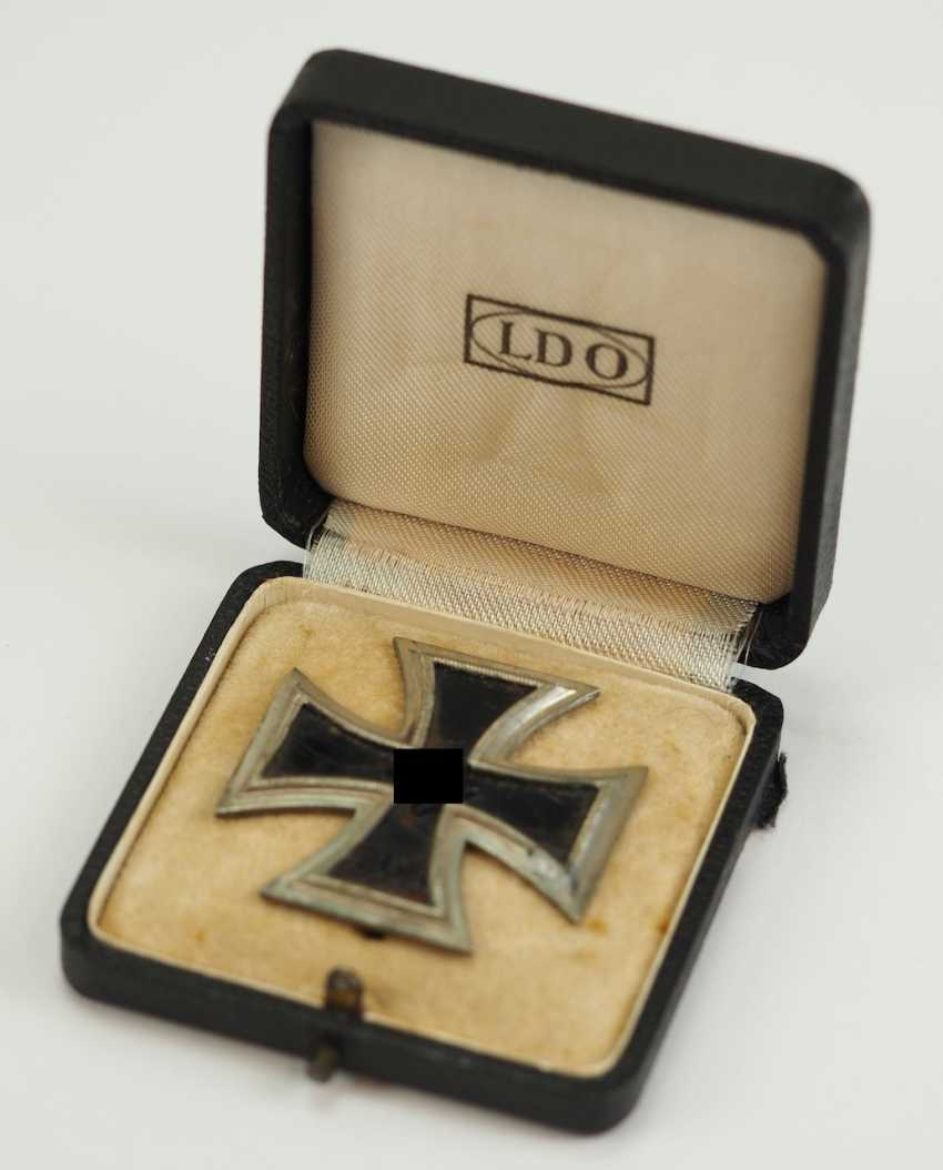 Iron Cross, 1939, 1. Class, in a case. - photo 1