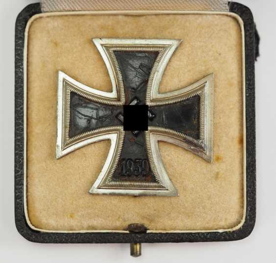 Iron Cross, 1939, 1. Class, in a case. - photo 2