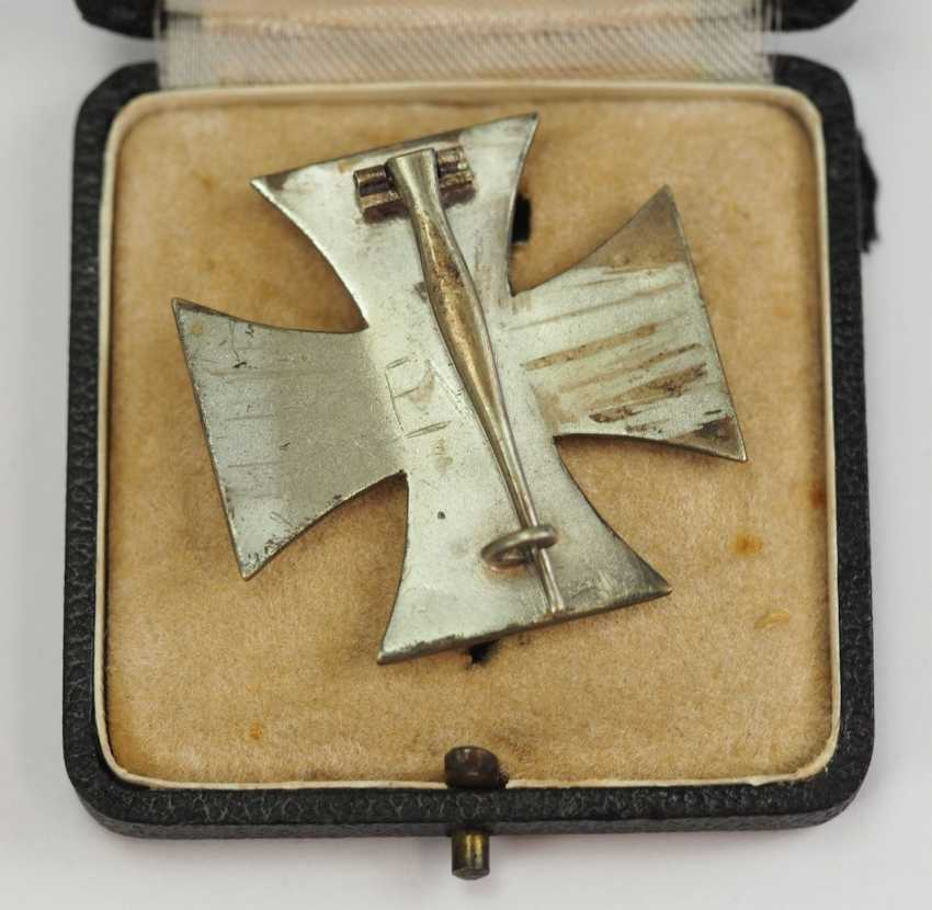 Iron Cross, 1939, 1. Class, in a case. - photo 3