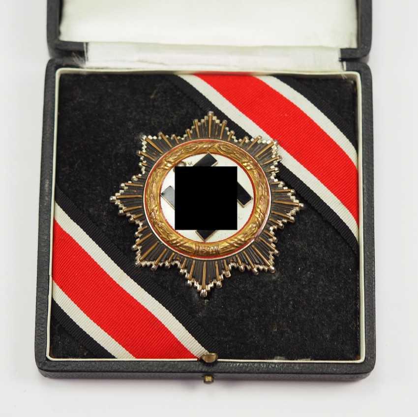 German cross in Gold, in a case - 134 - Sergeant Genke. - photo 1