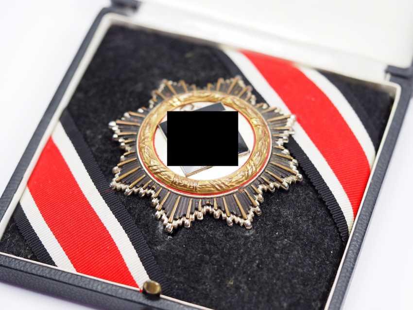 German cross in Gold, in a case - 134 - Sergeant Genke. - photo 2
