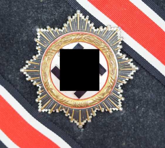 German cross in Gold, in a case - 134 - Sergeant Genke. - photo 3