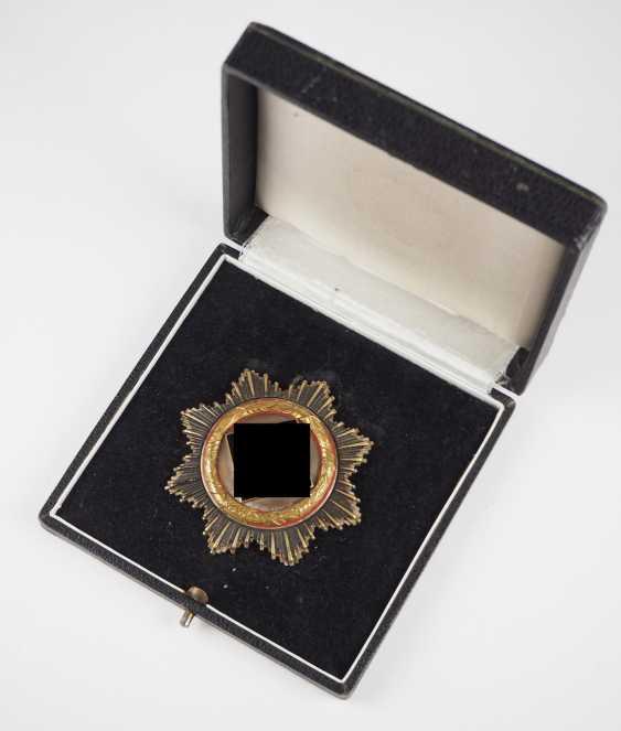 German cross in Gold, in a case - Deschler. - photo 1