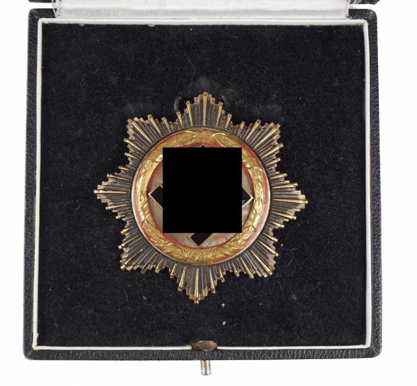 German cross in Gold, in a case - Deschler. - photo 2