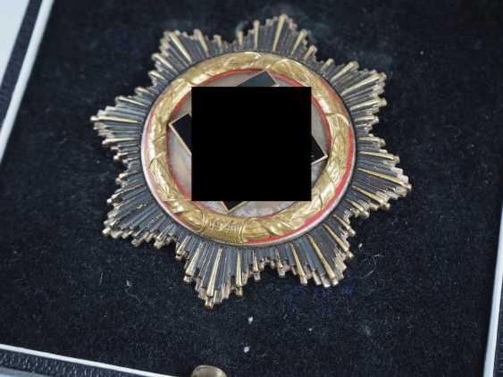 German cross in Gold, in a case - Deschler. - photo 3