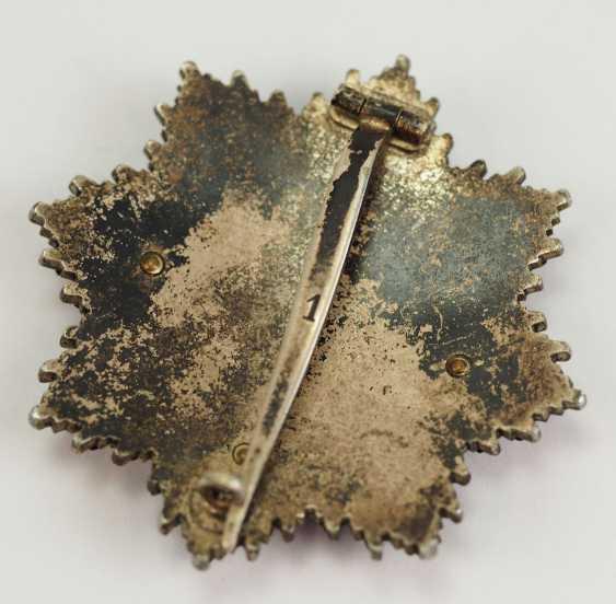 German cross in Gold, in a case - Deschler. - photo 5