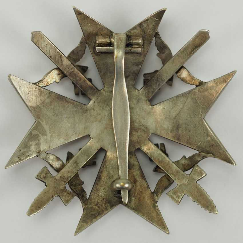 Cross of Spain, silver, with swords. - photo 3