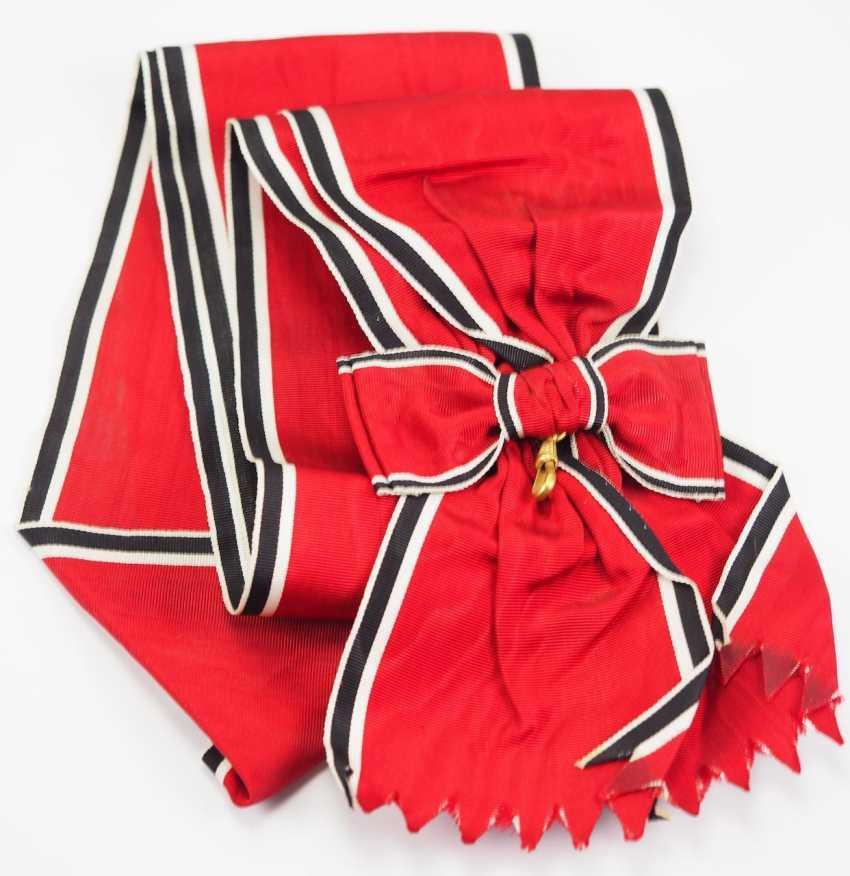 German Eagle Order, 1. Model (1937-1939), Grand Cross Sash. - photo 1