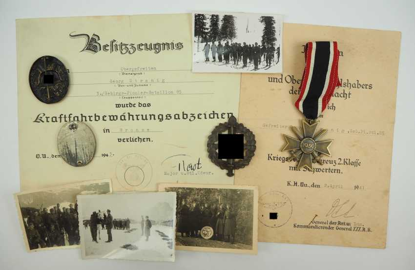 Estate of a lance-corporal of 3./ Mountain-Pioneer-Battalion 85. - photo 2