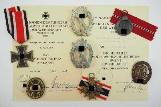 Estate of a non-commissioned officer of the 8./ Grenadier-Regiment 283. - photo 1