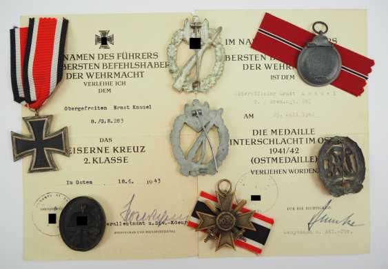 Estate of a non-commissioned officer of the 8./ Grenadier-Regiment 283. - photo 2