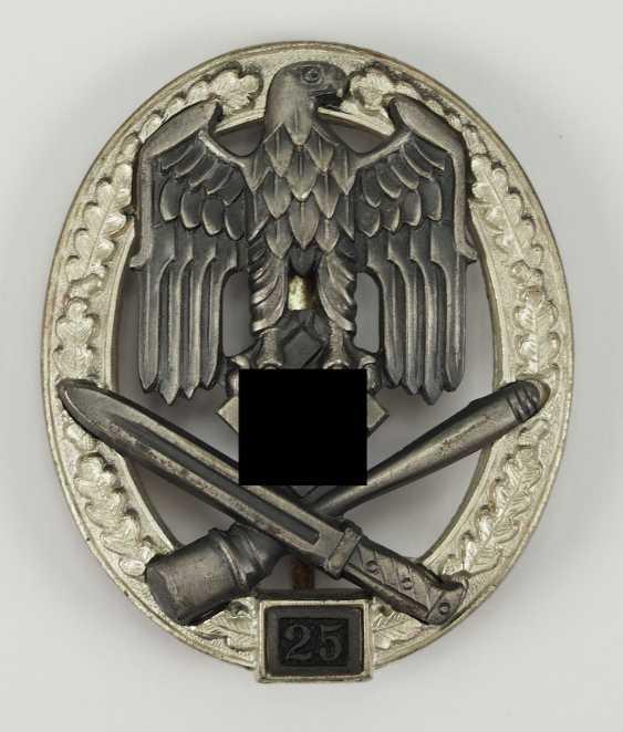 General assault badge, use number 25 - JFS. - photo 1