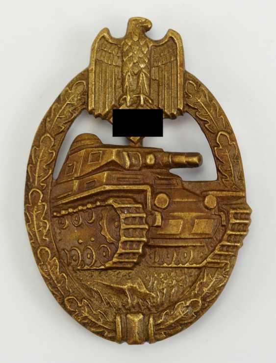 Tank Battle Badge Bronze. - photo 1