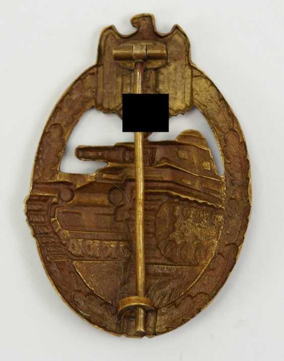 Tank Battle Badge Bronze. - photo 2