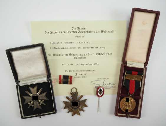 Estate of a corporal of the 2./ News-training and research Department. - photo 1
