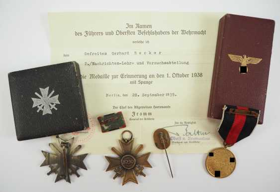 Estate of a corporal of the 2./ News-training and research Department. - photo 2