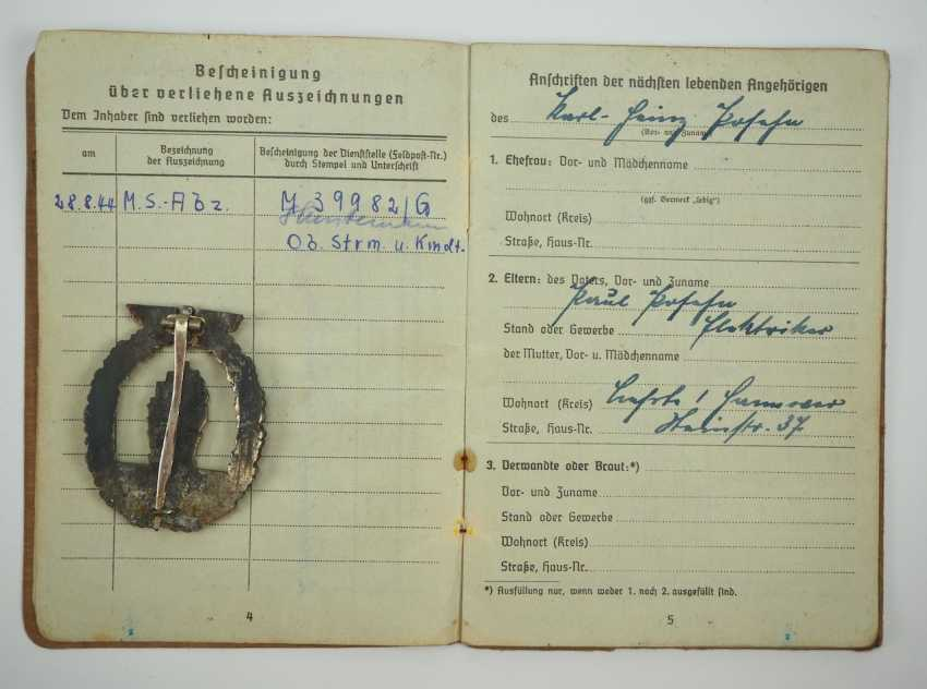 Estate of a sailor-lance corporal of the 6. Vp.-Afloat. - photo 2