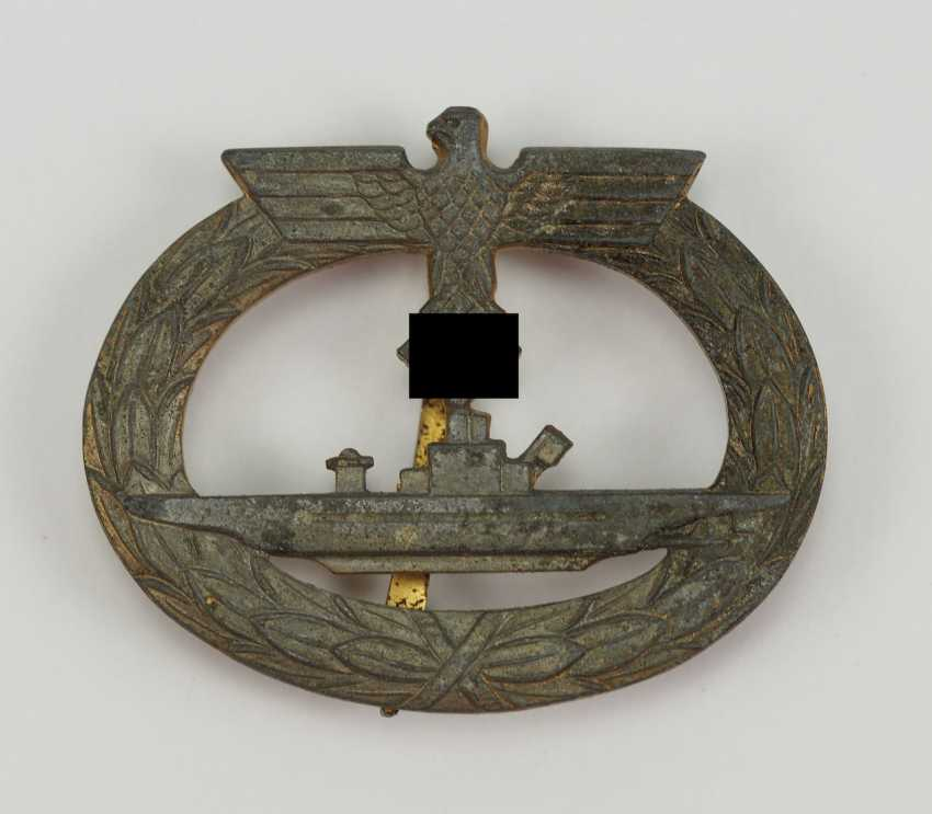 U-Boat War Badge. - photo 1