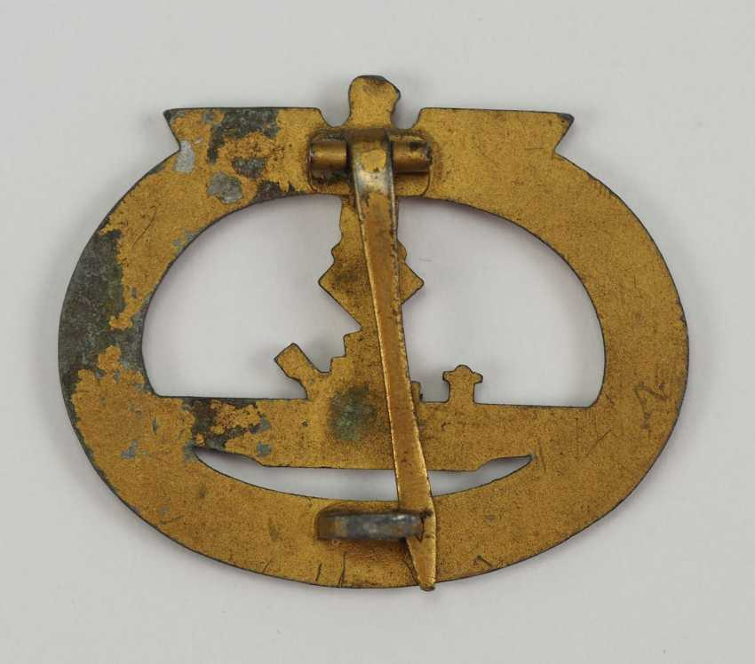 U-Boat War Badge. - photo 2