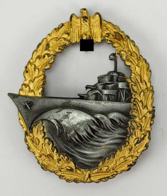 Destroyer war badge - S. H. u. co. - photo 1