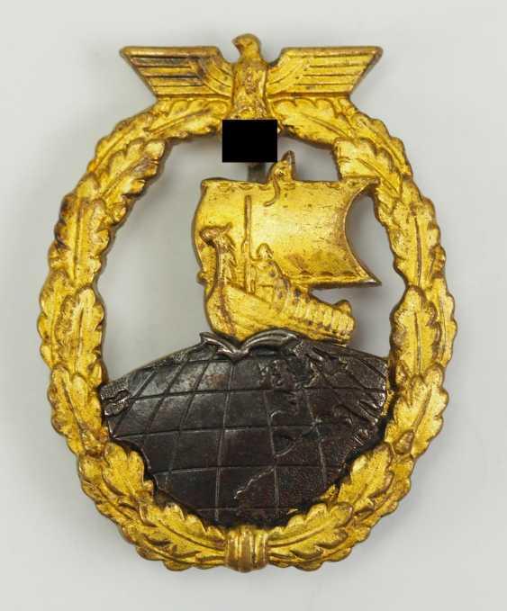Auxiliary Cruiser War Badge. - photo 1