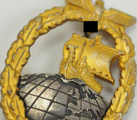 Auxiliary Cruiser War Badge. - photo 2