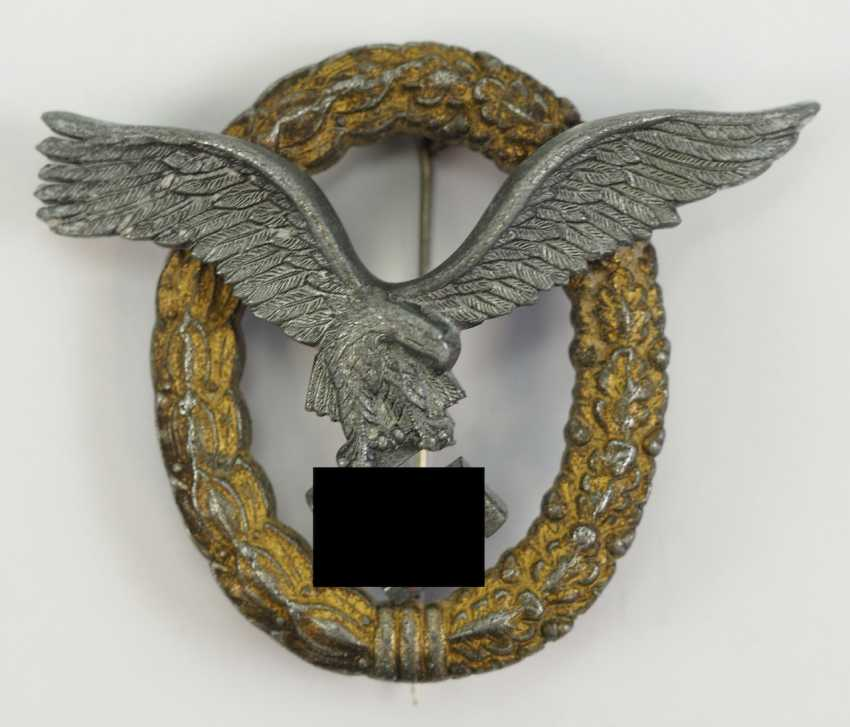 Pilot and observer badges. - photo 1