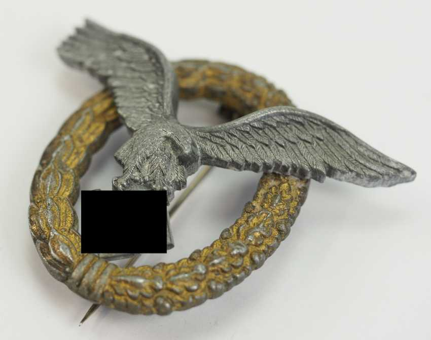 Pilot and observer badges. - photo 2