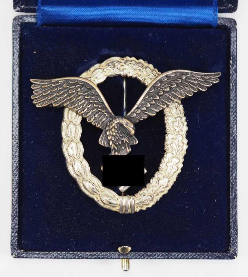 Pilot badge, in case B&N L. - photo 1