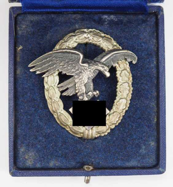 Observer badge, in a case - Assmann. - photo 1