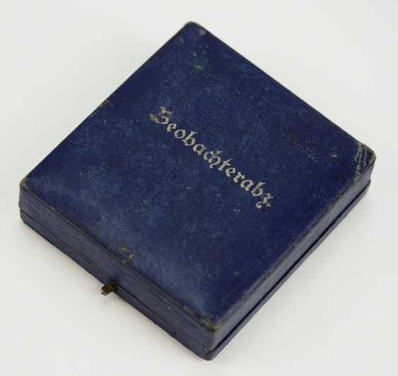 Observer badge, in a case - Assmann. - photo 3