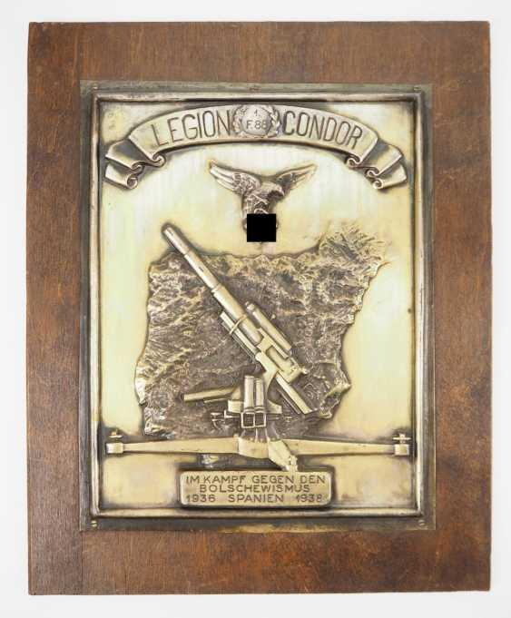 Condor Legion badge of the 1./ Flak-Division 88. - photo 1