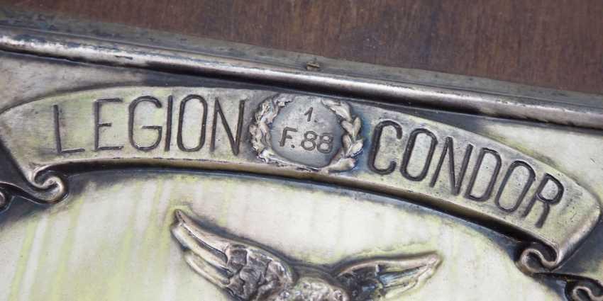 Condor Legion badge of the 1./ Flak-Division 88. - photo 3