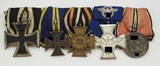 Medalbar of a Brunswick police officer. - photo 1