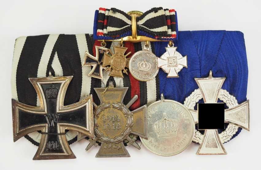 Award estate of a front fighter and state officials. - photo 1