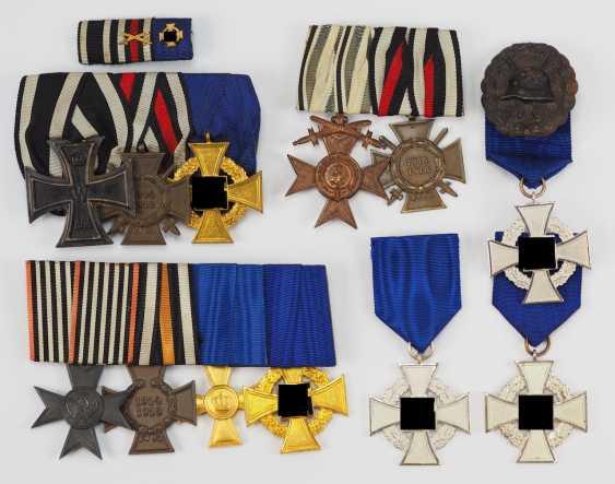 Lot Loyal Service Badge Of Honor. - photo 1