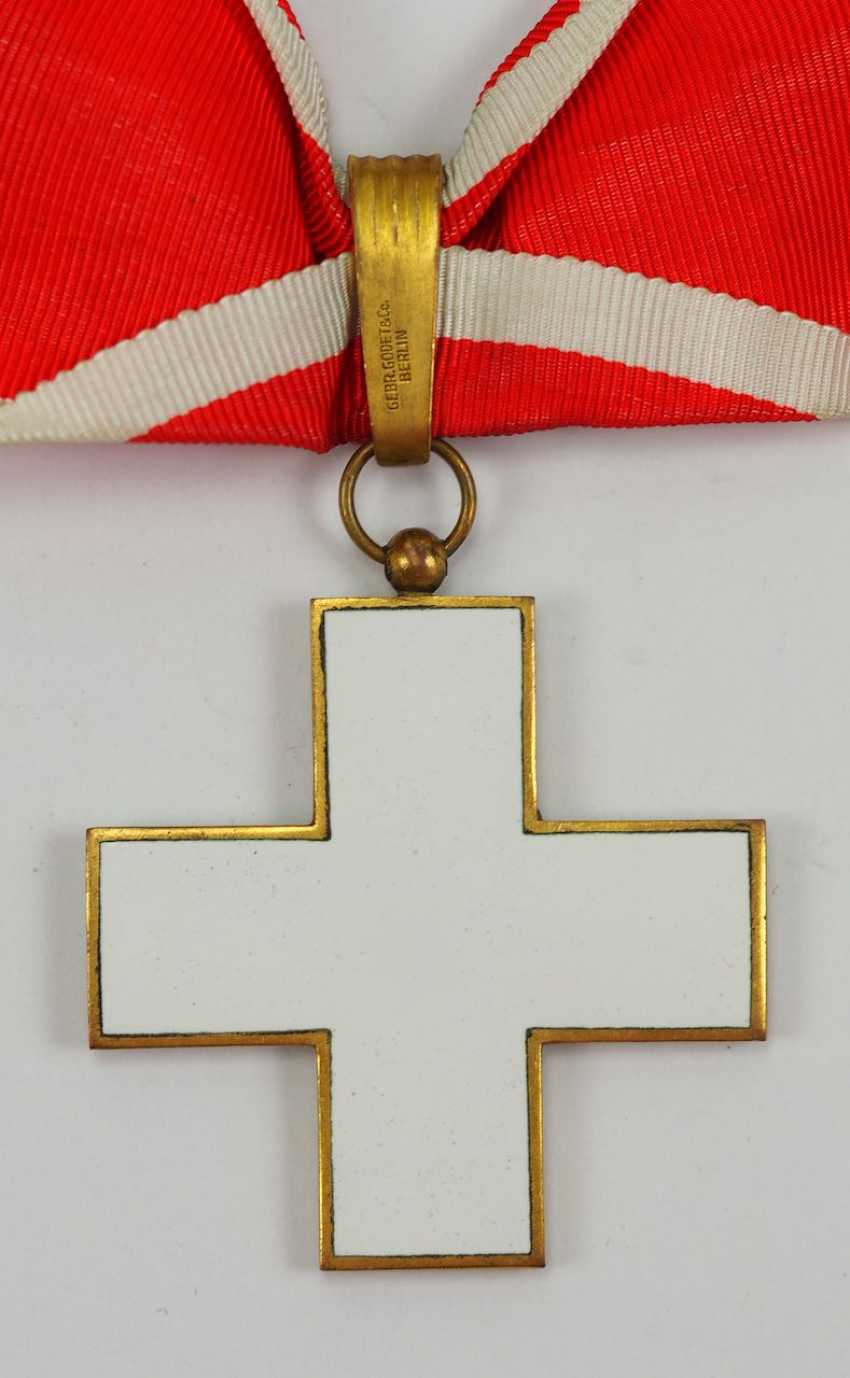 The German Red Cross Badges Of Honor, 2. Model (1934-1937), 1. Class. - photo 3