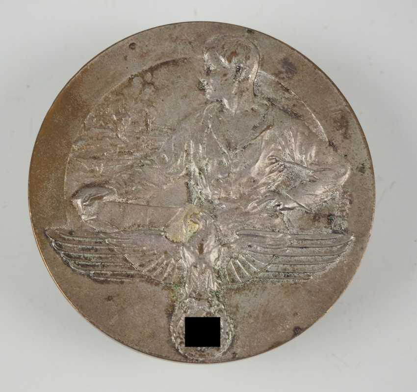 Medal for loyal cooperation with the chamber of Commerce and industry rich mountain.Silvered non-ferrous metal - photo 1
