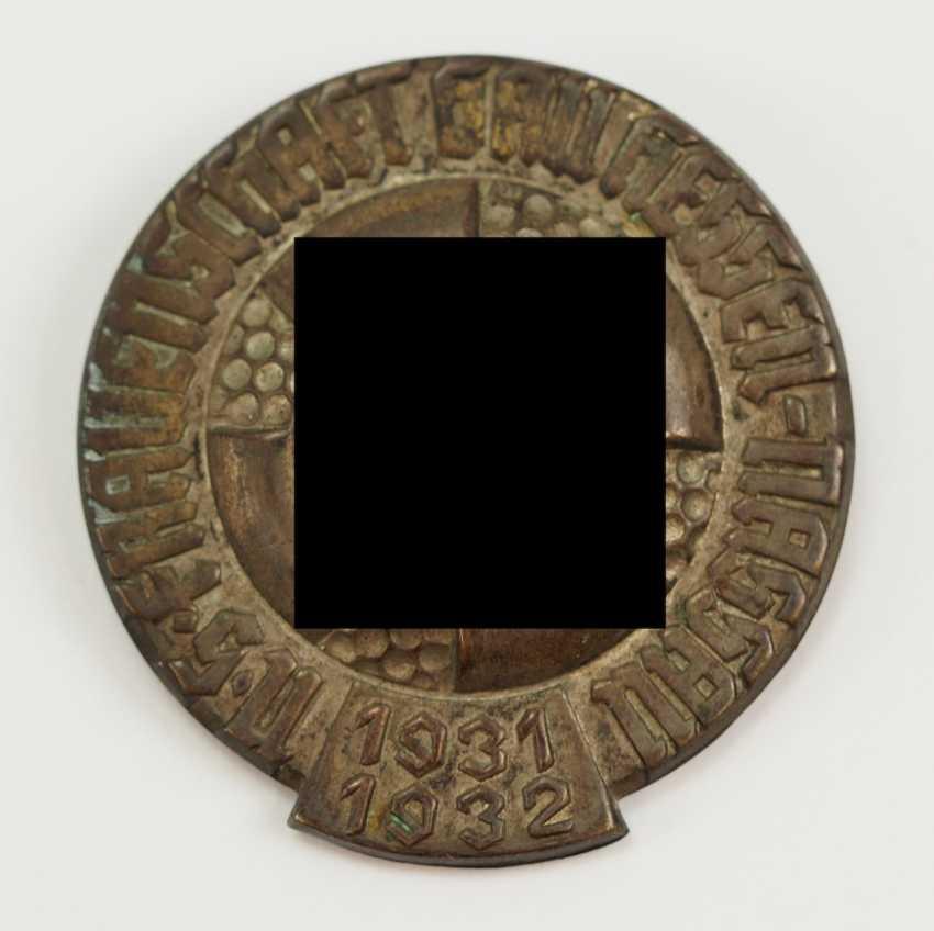 The NS-Frauenschaft, Gau Hessen-Nassau 1931/32 badge. - photo 1
