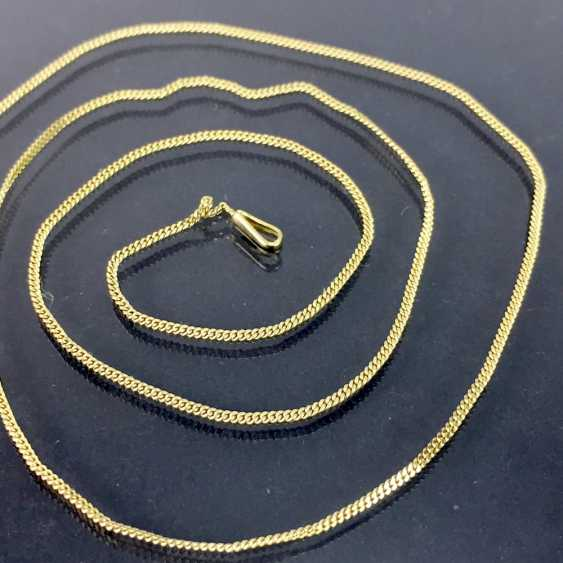 Fine neck-chain: yellow gold 333, length 44 cm, in very good preservation. - photo 2